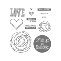 Snuggles and Smooches Photopolymer Stamp Set