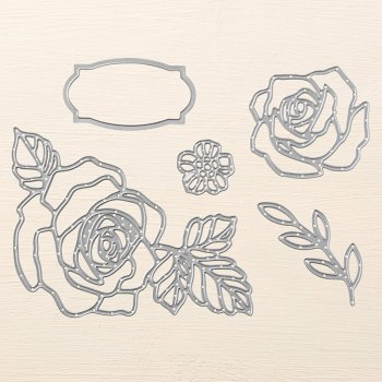 Rose Garden Thinlits Dies, Stampin' Up!