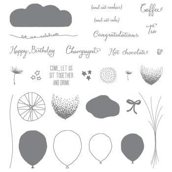Balloon Celebration, Stampin' Up!