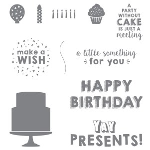 Party Wishes, Stampin' Up!