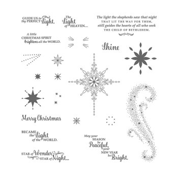 Star of Light stamp set, Stampin' Up!