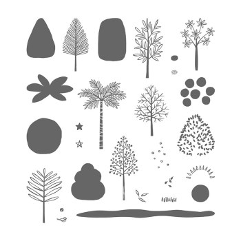 Totally Trees, Stampin' Up!