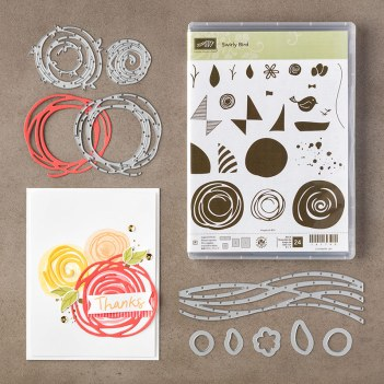 Swirly Bird Bundle, Stampin' Up!