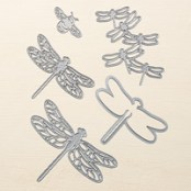 Detailed Dragonfly Thinlits Dies