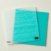 Pinewood Planks Dynamic Textured Impressions Embossing Folder