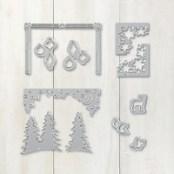 Card Front Builder Thinlits Dies