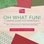 Dashing Along Hostess Promotion