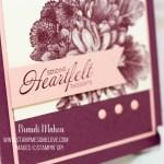 Heartfelt Blooms Sympathy Card