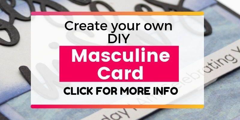 Masculine DIY Card