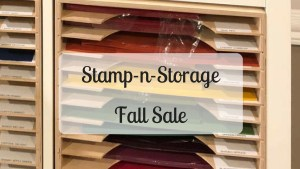 Stamp-n-Storage 15% off Sale