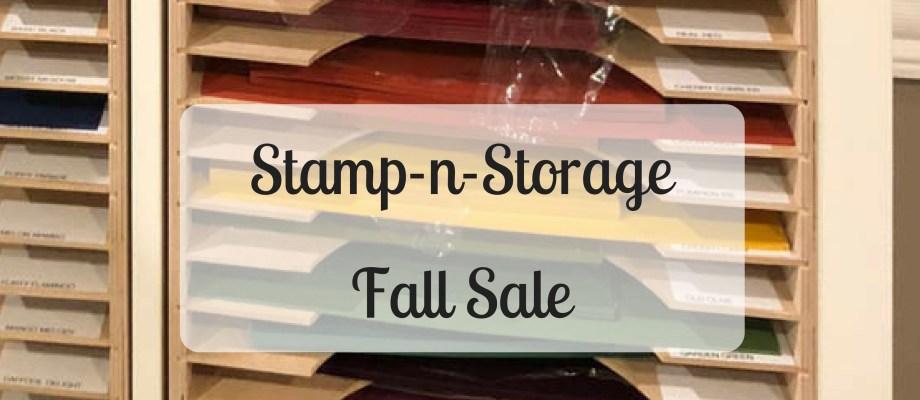 Stamp-n-Storage 15% off Sale