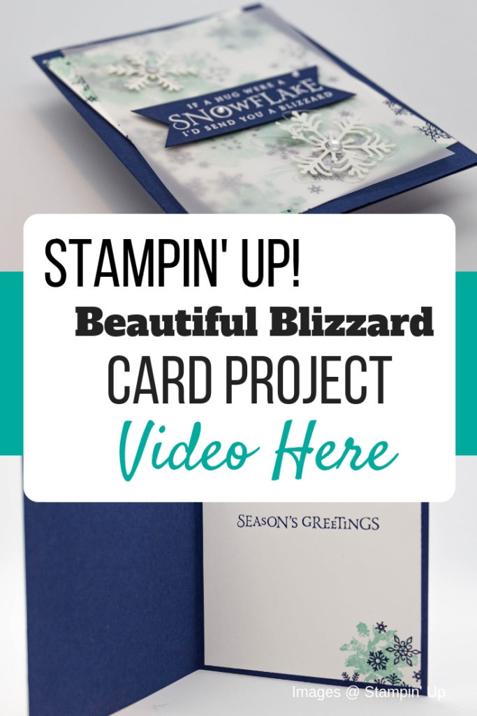 Create a special Christmas card with Stampin' Up! Beautiful Blizzard Stamp Set. Get all of the dimensions for this card. card tutorial   beautiful blizzard stampin up cards   beautiful blizzard su   beautiful blizzard bundle   christmas cards   christmas cards handmade   christmas cards dyi   snowflake cards   snowflake cards handmade   snowflake cards stampin up snow flake   #stampmesomelove #cardtutorial #christmascard