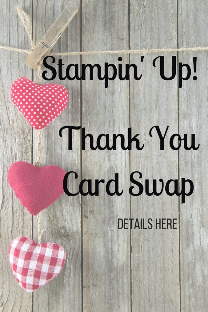 Join our card swap. This swap's theme is thank you cards. Send 5 cards in of one design and get 5 different cards back. Get more details on our website. card swap ideas | card swap ideas stampin up | card swap ideas paper crafts | card swap ideas simple | card swap paper crafts | #stampinup #stampmesomelove #cards #papercrafts