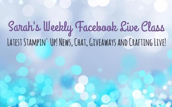 Sarah's Weekly Facebook Live Class