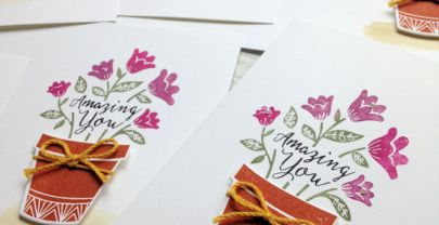 Stamping with the Grown with Love Bundle by Stampin' Up!