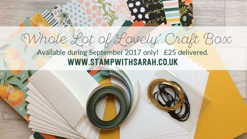 NEW September's Craft Box is available now!
