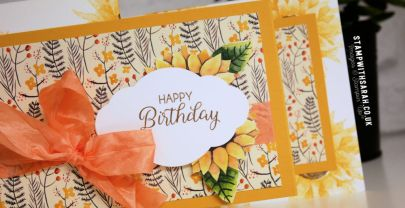 Blog Hop: Inspired by Flowers & Leaves with the Be Inspired Team