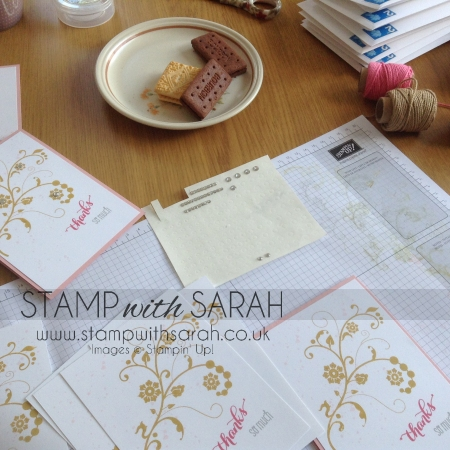 August Customer Thank you cards