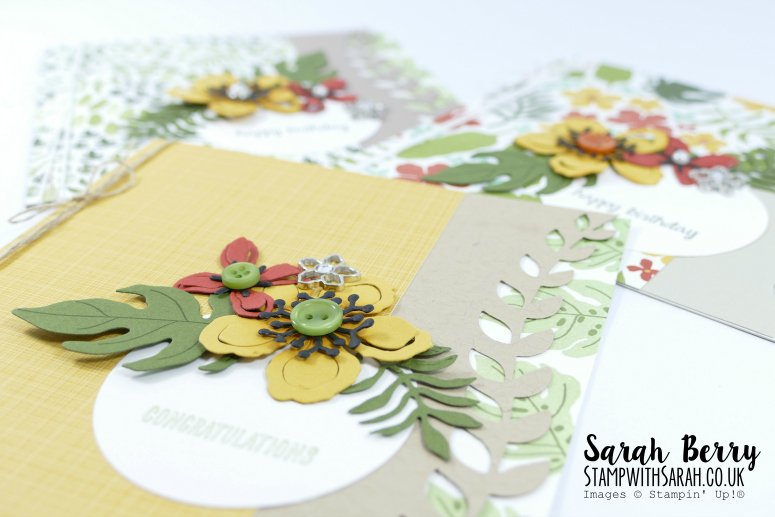 Botanical Blooms Close Up #stampwithsarah #stampinup
