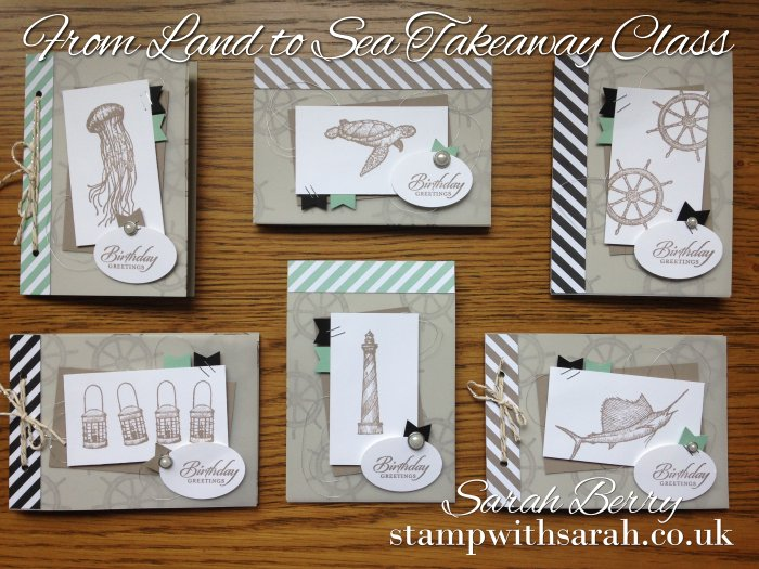 From Land to Sea Takeaway Class Card Collection