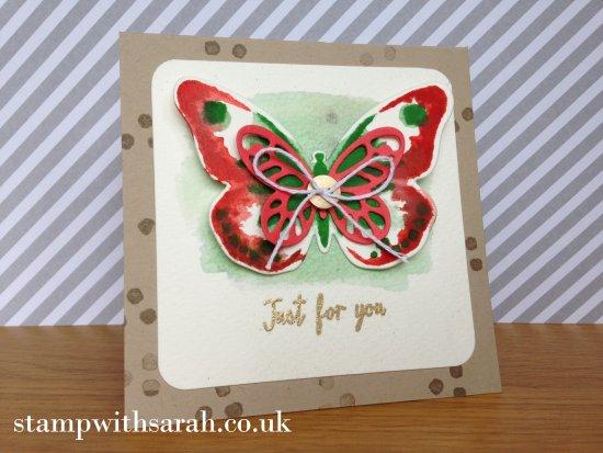 Stamp with Sarah Berry Stampin Up UK Watercolor Watercolour Wings Bundle