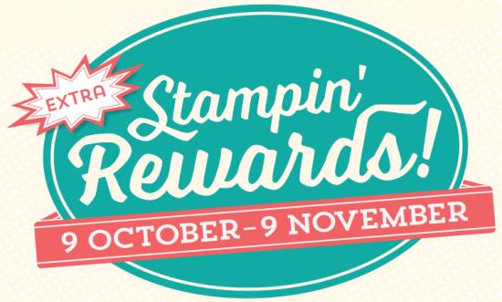 Stampin Rewards Extra side bar