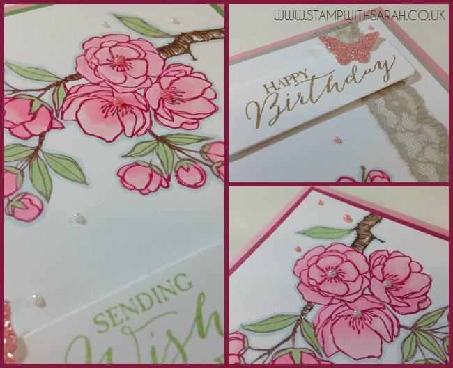 Stampin Up UK Stamp with Sarah Berry Indescribable Gift