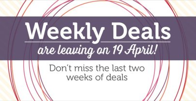 On Sale: Weekly Deals for 6th April – 12th April