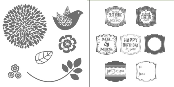 25% off Betsy's Blossoms and Label Love until 28th October!