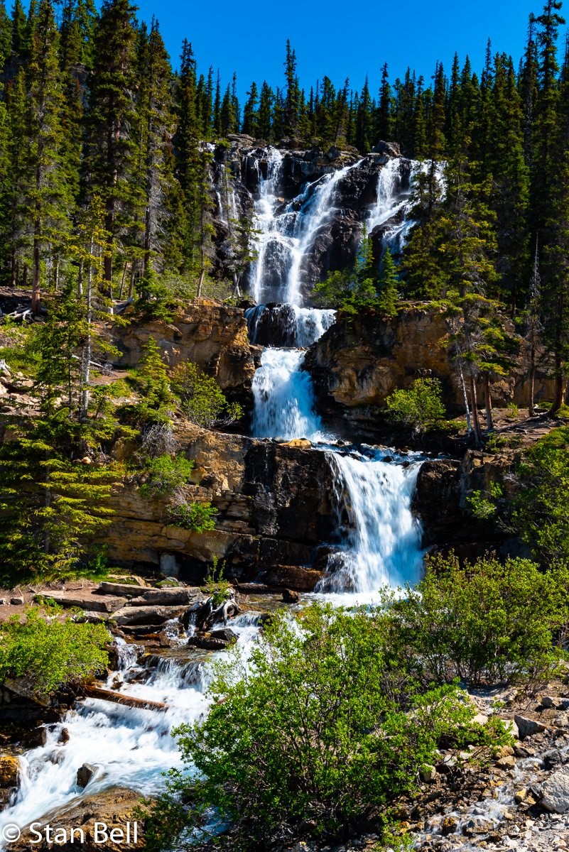 Waterfalls on the Icefields Parkway 1
