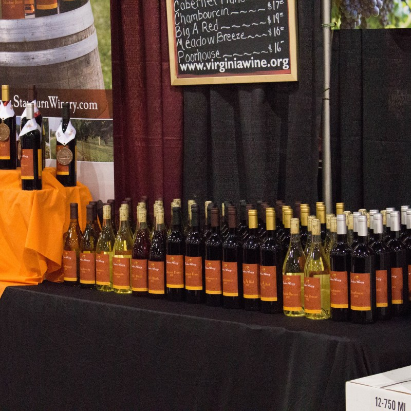 Richmond and Staunton Wine Fests in February