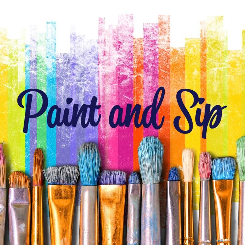 Paint & Sip Class Dec. 2019