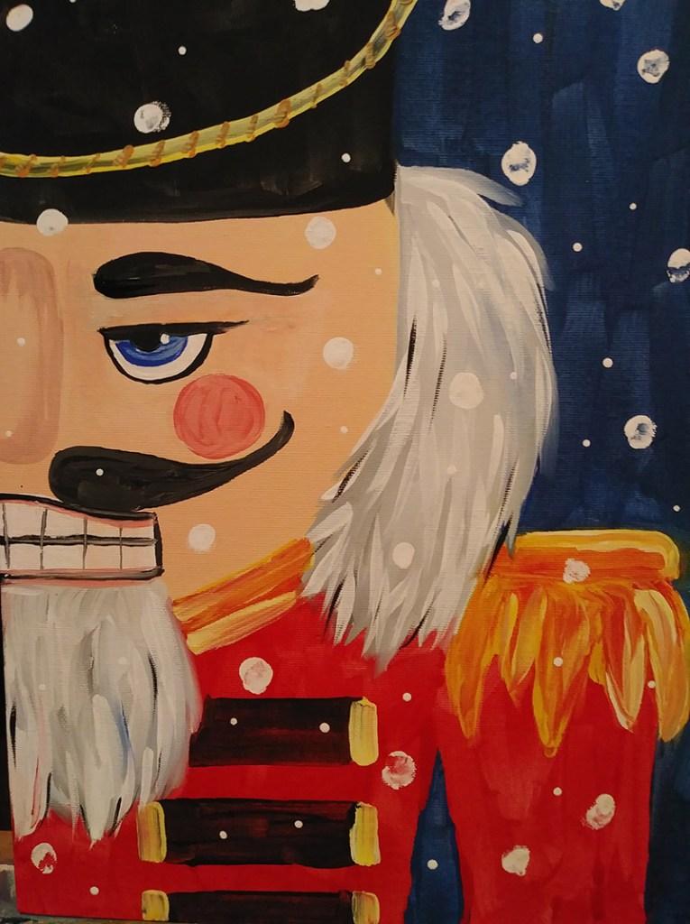 Nutcracker painting