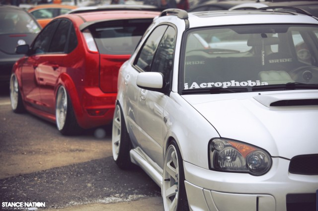 Aggressive Fitment China Stanced Car Event (9)