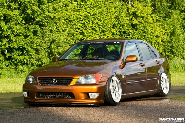 Slammed & Fitted Lexus IS (1)