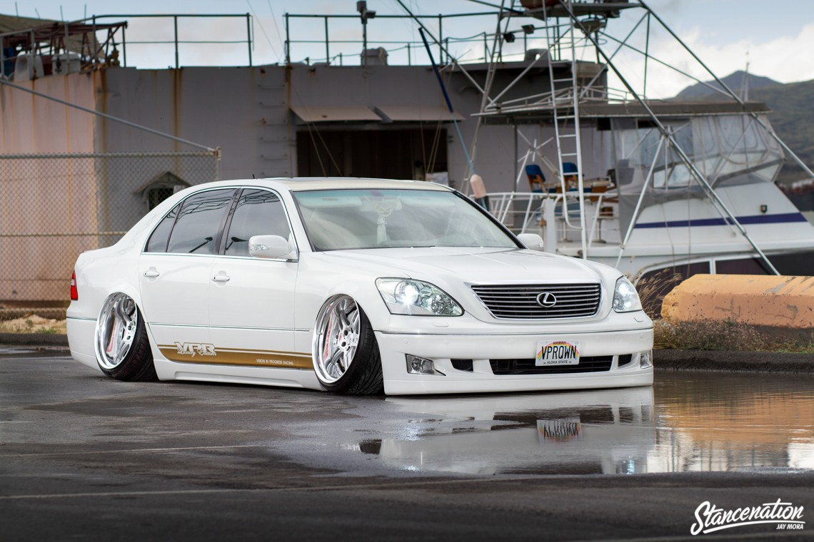 Hawaii Five Ohhhhhh The Vpr Lexus Ls430 Stanced Rides