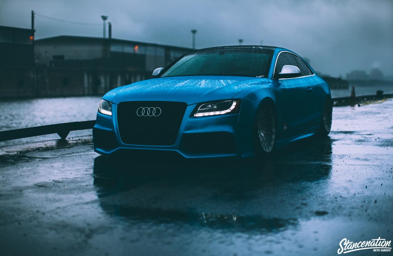 Slammed Audi-7