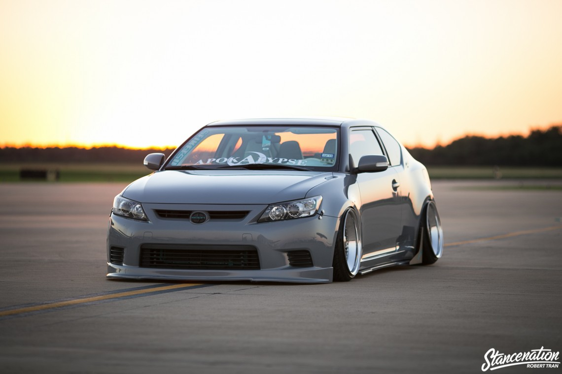 Slammed Scion tC-12