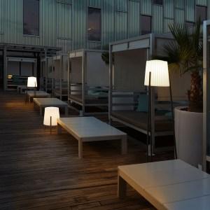 Lampadaire Barcino de LEDS C4