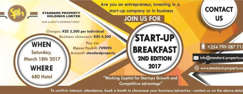 SPH Startup Breakfast 2nd Edition
