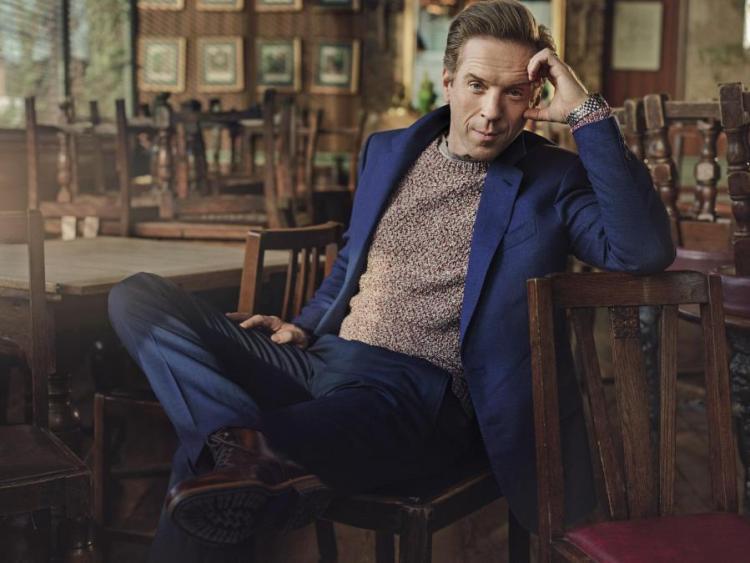 GIEVES & HAWKES jacket, £795 (gievesandhawkes.com). Zadig & Voltaire jumper, £245 (zadig-et-voltaire.com). Maurice Lacroix watch, £3,245 (mauricelacroix.com). HUGO BOSS T-shirt, £59 (hugoboss.com). Boots, £195 (russelland bromley.com)