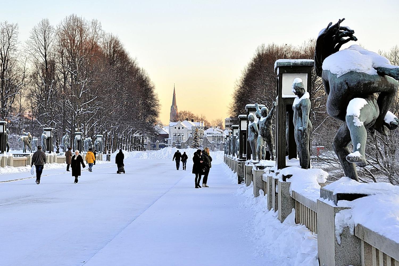 Freeze Frame Winter In Oslo London Evening Standard