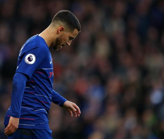 Chelsea Star Eden Hazard On Real Madrid Transfer There Are Things That Might Make Me Stay With Blues London Evening Standard