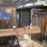 Constant Carpentry is a key to building a bike shop