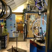 Bike Shop in a Tiny Space