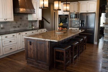 Knoxville Countertops | Tranquility Ridge Rustic Kitchen
