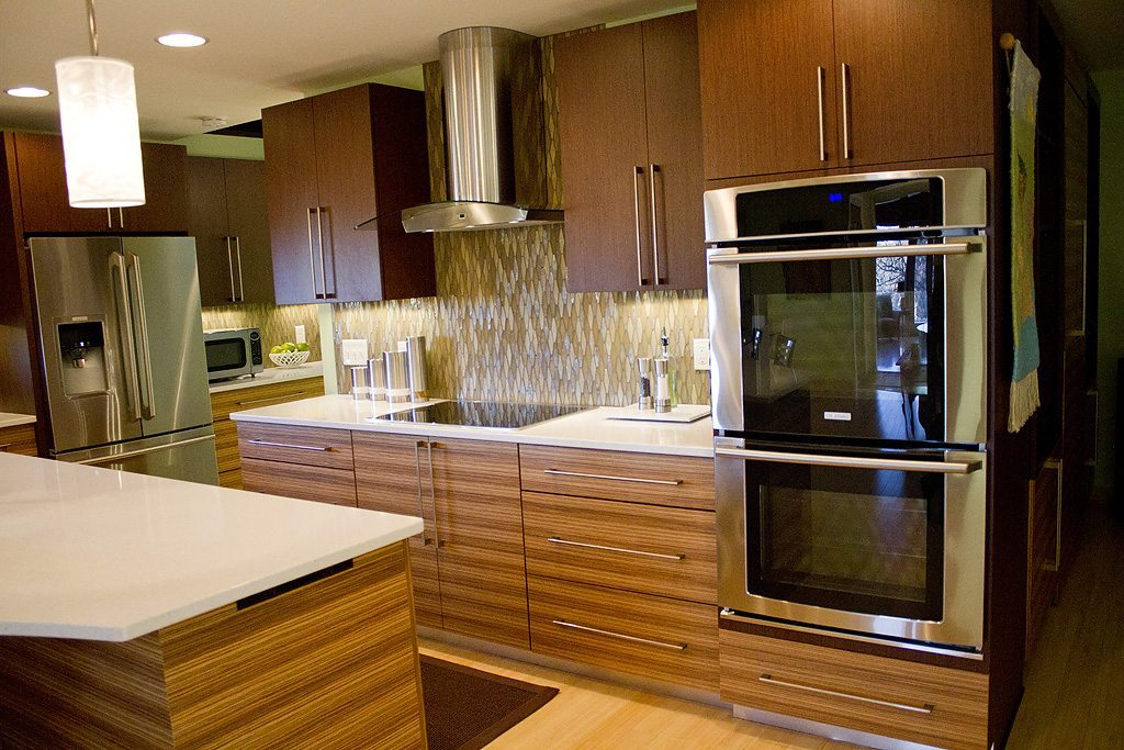 Mouser Kitchen Remodel In Wenge U0026 Zebrawood | Standard Kitchen U0026 Bath | Knoxville  TN