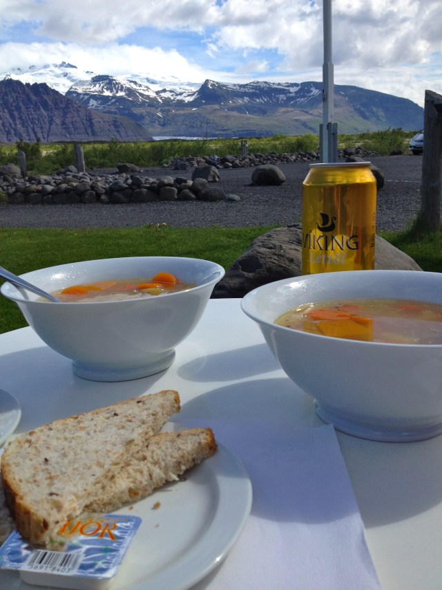 Soup with a view