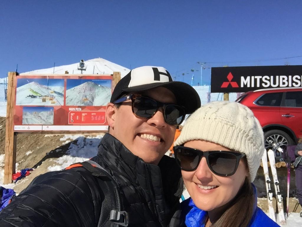 Chile skiing