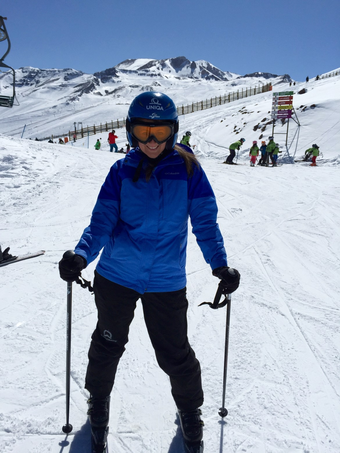 Chile skiing